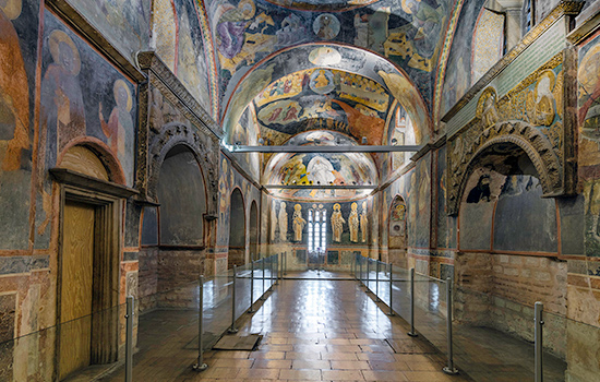Explore the frescoes of Parekklesion, Chora Museum (Chora Church), chora museum hours, chora church facts, byzantine museum istanbul