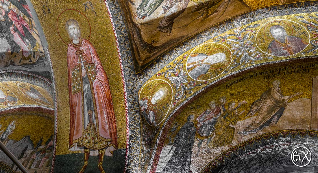 Chora Museum (Chora Church) in Istanbul, Saint Tarahos, and other Saints